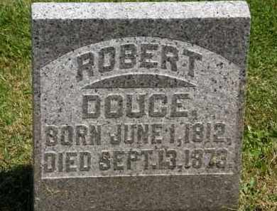 DOUCE, ROBERT - Marion County, Ohio | ROBERT DOUCE - Ohio Gravestone Photos