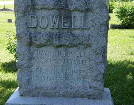 DOWELL, EDWARD H. - Marion County, Ohio | EDWARD H. DOWELL - Ohio Gravestone Photos
