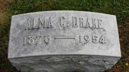 DRAKE, ALMA C. - Marion County, Ohio | ALMA C. DRAKE - Ohio Gravestone Photos