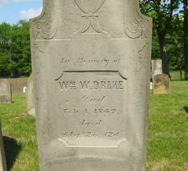 DRAKE, WILLIAM W. - Marion County, Ohio | WILLIAM W. DRAKE - Ohio Gravestone Photos
