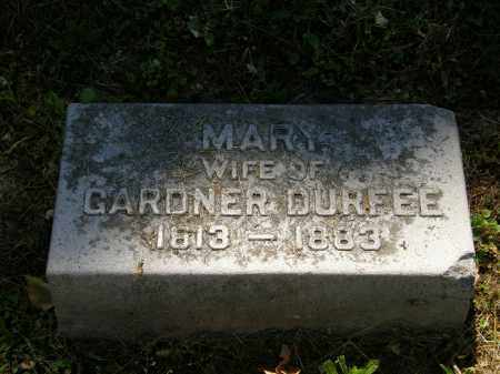 DURFEE, GARDNER - Marion County, Ohio | GARDNER DURFEE - Ohio Gravestone Photos