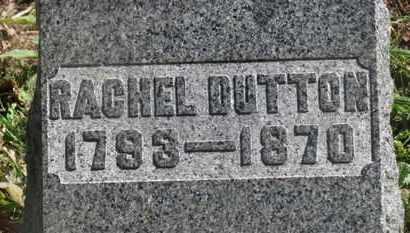 DUTTON, RACHEL - Marion County, Ohio | RACHEL DUTTON - Ohio Gravestone Photos