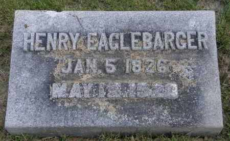 EAGLEBARGER, HENRY - Marion County, Ohio | HENRY EAGLEBARGER - Ohio Gravestone Photos