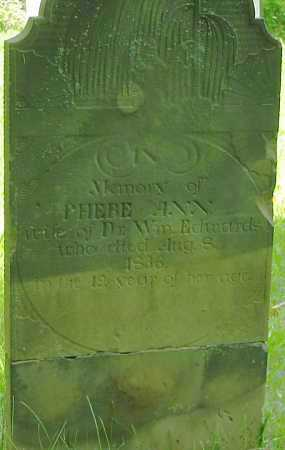 EDWARDS, PHEBE ANN - Marion County, Ohio | PHEBE ANN EDWARDS - Ohio Gravestone Photos