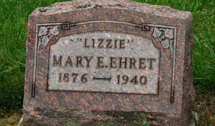 "EHRET, MARY E. ""LIZZIE"" - Marion County, Ohio 