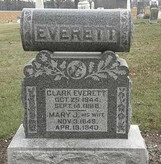 EVERETT, CLARK - Marion County, Ohio | CLARK EVERETT - Ohio Gravestone Photos