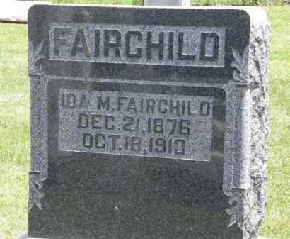 FAIRCHILD, IDA M. - Marion County, Ohio | IDA M. FAIRCHILD - Ohio Gravestone Photos