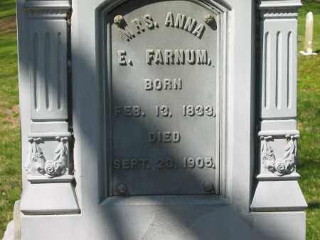 FARNUM, ANNA E. - Marion County, Ohio | ANNA E. FARNUM - Ohio Gravestone Photos