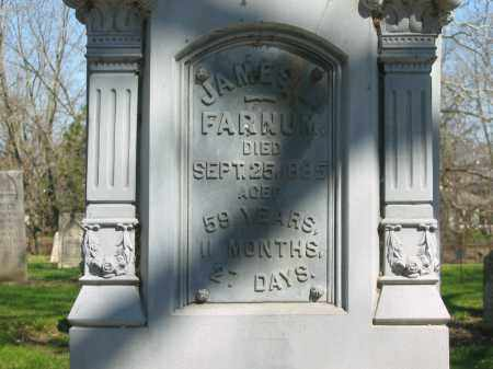FARNUM, JAMES L. - Marion County, Ohio | JAMES L. FARNUM - Ohio Gravestone Photos