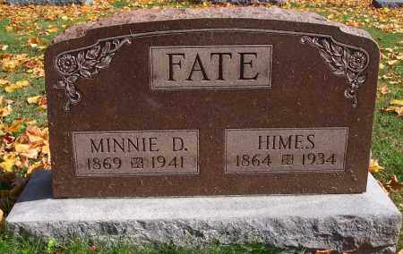 FATE, HOMER HIMES - Marion County, Ohio | HOMER HIMES FATE - Ohio Gravestone Photos