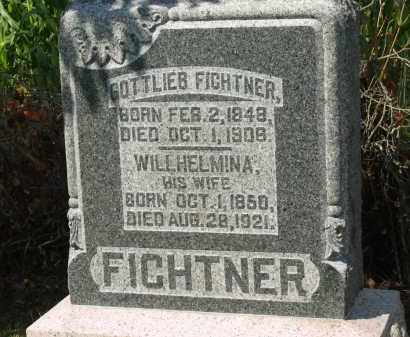 FICHTNER, WILLHELMINA - Marion County, Ohio | WILLHELMINA FICHTNER - Ohio Gravestone Photos
