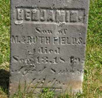 FIELDS, BENJAMIN - Marion County, Ohio | BENJAMIN FIELDS - Ohio Gravestone Photos