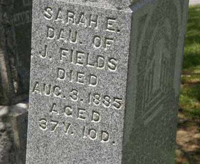 FIELDS, J. - Marion County, Ohio | J. FIELDS - Ohio Gravestone Photos