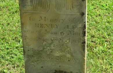 FOOS, HENRY A. - Marion County, Ohio | HENRY A. FOOS - Ohio Gravestone Photos