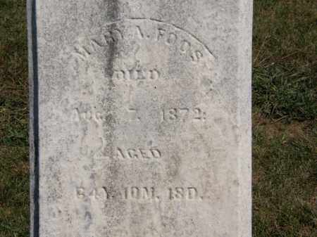 FOOS, MARY A. - Marion County, Ohio | MARY A. FOOS - Ohio Gravestone Photos