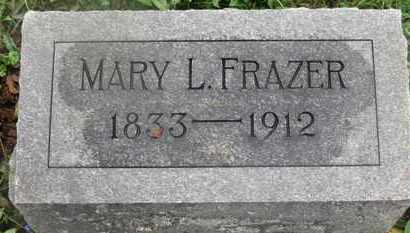 FRAZER, MARY L. - Marion County, Ohio | MARY L. FRAZER - Ohio Gravestone Photos