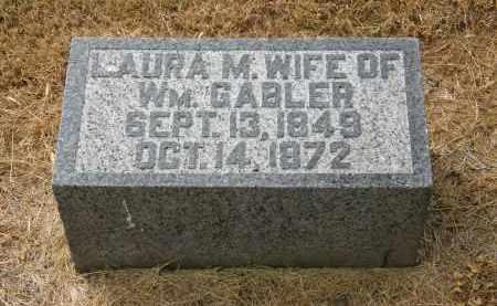 GABLER, LAURA M. - Marion County, Ohio | LAURA M. GABLER - Ohio Gravestone Photos