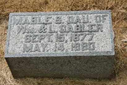 GABLER, MABLE S. - Marion County, Ohio | MABLE S. GABLER - Ohio Gravestone Photos