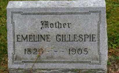 GILLESPIE, EMELINE - Marion County, Ohio | EMELINE GILLESPIE - Ohio Gravestone Photos