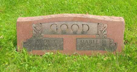 GOOD, AROY CURTIS - Marion County, Ohio | AROY CURTIS GOOD - Ohio Gravestone Photos