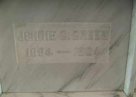 GREEN, JENNIE - Marion County, Ohio | JENNIE GREEN - Ohio Gravestone Photos