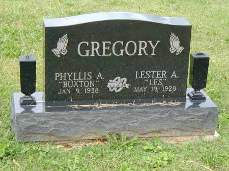 GREGORY, LESTER - Marion County, Ohio | LESTER GREGORY - Ohio Gravestone Photos