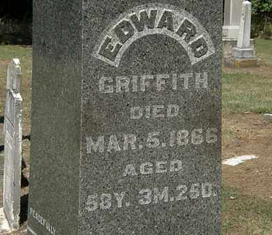GRIFFITH, EDWARD - Marion County, Ohio | EDWARD GRIFFITH - Ohio Gravestone Photos
