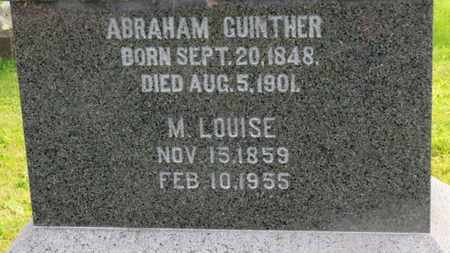 GUINTHER, M. LOUISE - Marion County, Ohio | M. LOUISE GUINTHER - Ohio Gravestone Photos