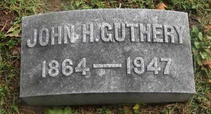 GUTHERY, JOHN H. - Marion County, Ohio | JOHN H. GUTHERY - Ohio Gravestone Photos