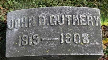 GUTHERY, JOHN D. - Marion County, Ohio | JOHN D. GUTHERY - Ohio Gravestone Photos