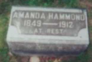 HAMMOND, AMANDA E MARTIN - Marion County, Ohio | AMANDA E MARTIN HAMMOND - Ohio Gravestone Photos