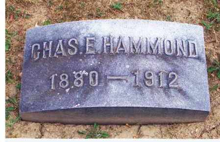 HAMMOND, CHARLES E - Marion County, Ohio | CHARLES E HAMMOND - Ohio Gravestone Photos