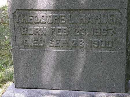 HARDEN, THEODORE L. - Marion County, Ohio | THEODORE L. HARDEN - Ohio Gravestone Photos