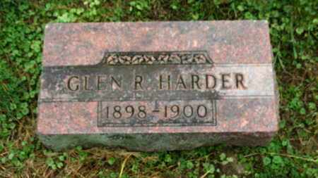 HARDER, GLEN R. - Marion County, Ohio | GLEN R. HARDER - Ohio Gravestone Photos