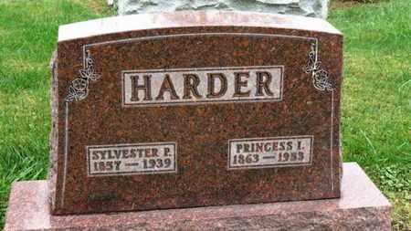 HARDER, PRINCESS I. - Marion County, Ohio   PRINCESS I. HARDER - Ohio Gravestone Photos