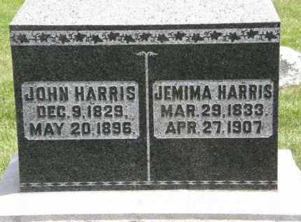 HARRIS, JOHN - Marion County, Ohio | JOHN HARRIS - Ohio Gravestone Photos