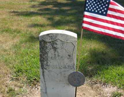 HARRIS, MARION - Marion County, Ohio | MARION HARRIS - Ohio Gravestone Photos