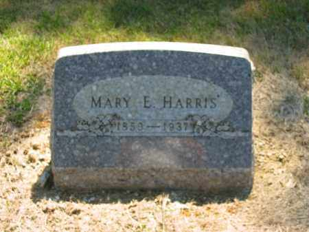HARRIS, MARY E. - Marion County, Ohio | MARY E. HARRIS - Ohio Gravestone Photos