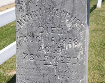 HARRUFF, HENRY - Marion County, Ohio   HENRY HARRUFF - Ohio Gravestone Photos