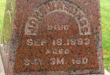 HASTINGS, JOHN - Marion County, Ohio | JOHN HASTINGS - Ohio Gravestone Photos