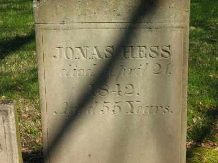 HESS, JONAS - Marion County, Ohio | JONAS HESS - Ohio Gravestone Photos