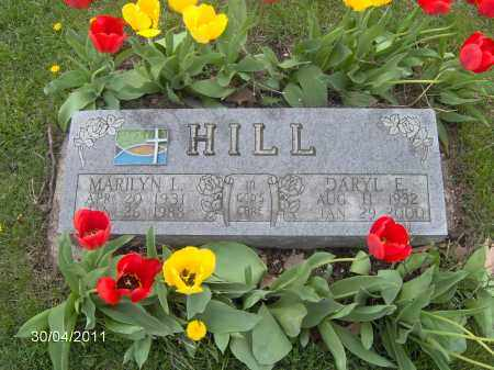 HILL, MARILYN I. - Marion County, Ohio | MARILYN I. HILL - Ohio Gravestone Photos