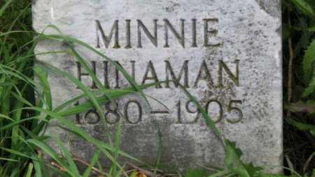 HINAMIN, MINNIE - Marion County, Ohio | MINNIE HINAMIN - Ohio Gravestone Photos