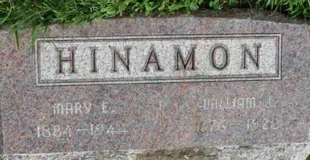 HINAMON, WILLIAM - Marion County, Ohio | WILLIAM HINAMON - Ohio Gravestone Photos
