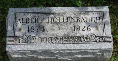 HOLLENBAUGH, ALBERT - Marion County, Ohio | ALBERT HOLLENBAUGH - Ohio Gravestone Photos
