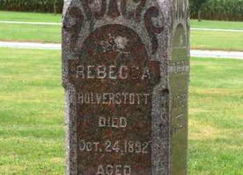 HOLVERSTOTT, REBECCA - Marion County, Ohio | REBECCA HOLVERSTOTT - Ohio Gravestone Photos