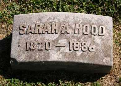HOOD, SARAH A. - Marion County, Ohio | SARAH A. HOOD - Ohio Gravestone Photos