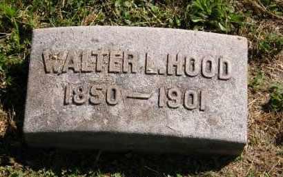 HOOD, WALTER L. - Marion County, Ohio | WALTER L. HOOD - Ohio Gravestone Photos