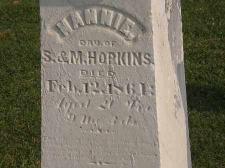 HOPKINS, M. - Marion County, Ohio | M. HOPKINS - Ohio Gravestone Photos