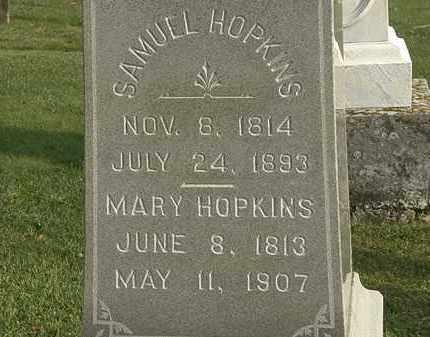 HOPKINS, MARY - Marion County, Ohio | MARY HOPKINS - Ohio Gravestone Photos